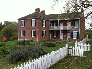 The Pry House. Gen. George McClellan's headquarters, September 1862, Sharpsburg, Maryland